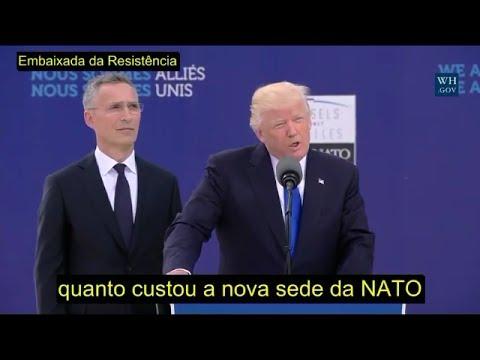 PAGUEM! Trump coloca a tropa da NATO em sentido!