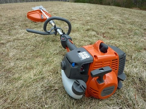 Husqvarna Brush Cutter 128djx Overview Quick Demo And First