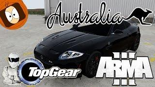 TOP GEAR ESSAI : JAGUAR XKR-S VS RENAULT 5 !! | JAVA LIFE | ARMA 3