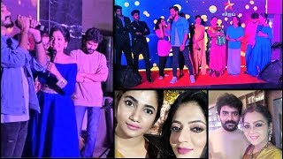 KAVIN LOS BIGG BOSS Contestants in FROOTI Success Party |TamilCineChips
