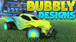 Best 'Bubbly' Car Designs On Rocket League