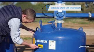 SandStorm™ filter - Replacing an underdrain diffuser | Netafim