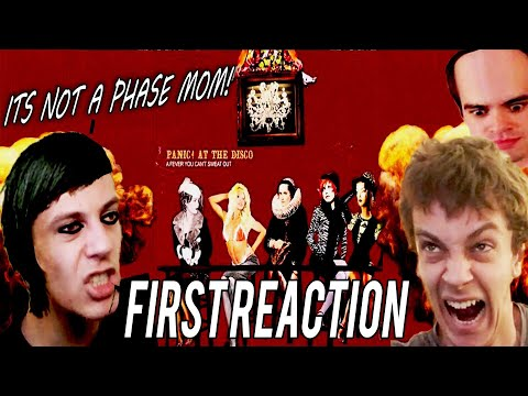 First Reaction to Panic! At The Disco - A Fever You Can't Sweat Out (+ Review)