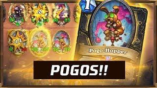 POGOS!! | Battlegrounds Hearthstone