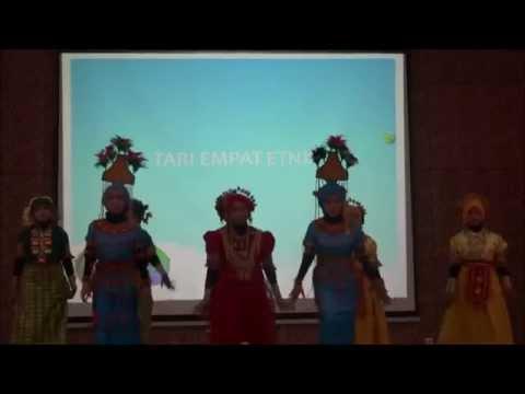 Tari Empat Etnis Sulawesi Selatan, Indonesia