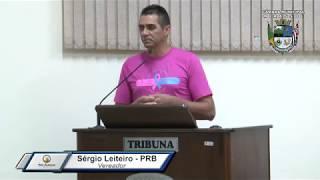 33ª Sessão Ordinária - Vereador Sergio Leiteiro
