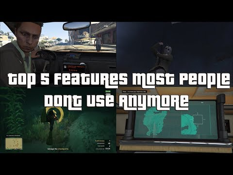 GTA Online Top 5 Features Most People Don't Use Anymore