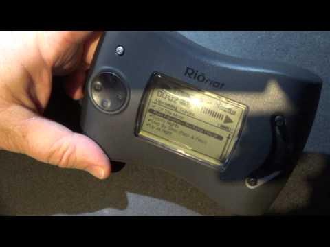 Vintage MP3 player