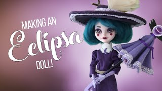 Making an ECLIPSA BUTTERFLY Doll! (Star vs the Forces of Evil) [CC]