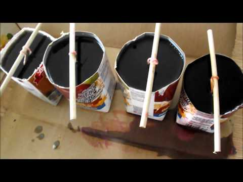 How To Make Candles From Left Over Wax