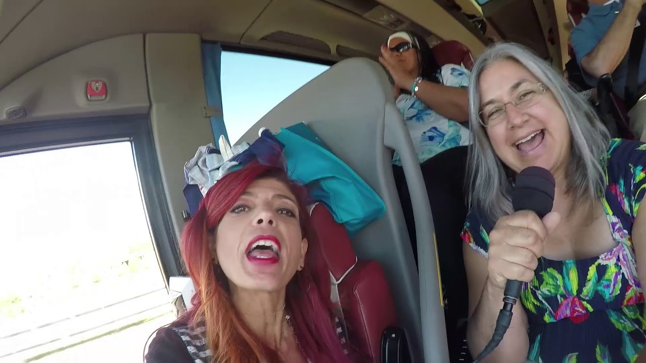 Trafalgar BEST OF ITALY AND SICILY TOUR 2017 meet the group on the bus