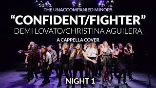 Confident Fighter Night 1 feat. Charina Alducente - The Unaccompanied Minors A Cappella Cover