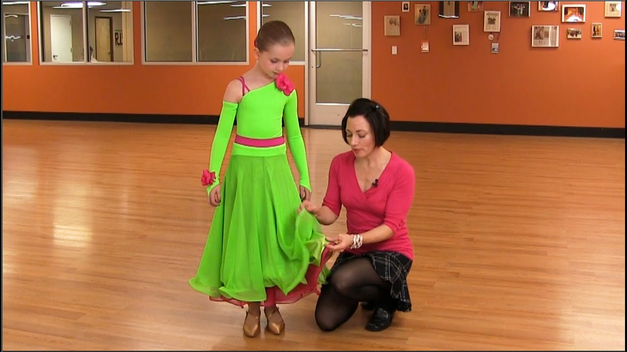 32b7f487a How To Make A Junior's Competition Latin Dress & Ballgown Dress. Sew Like A  Pro