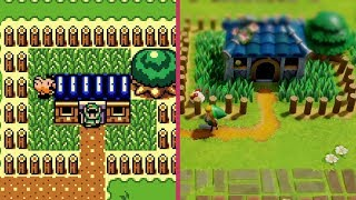 Zelda: Link's Awakening – Game Boy vs. Switch REMAKE Trailer Graphics Comparison