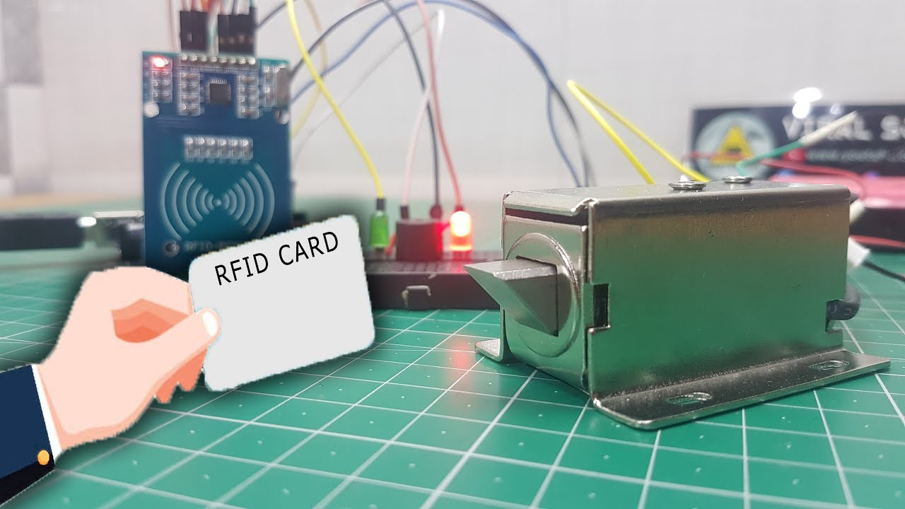 Arduino Rfid Solenoid Lock Youtube