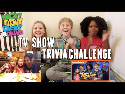 Henry Danger TV  Trivia Challenge with Ella Anderson and Riele Downs!!