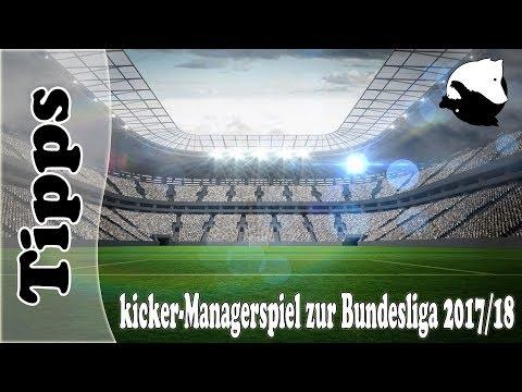Kicker.de Managerspiel 17/18 | Tipps von und mit Paul | Fußball Bundesliga