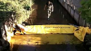 barrage deci rivière watergate sdis cher