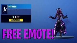 "Fortnite FREE EMOTE ""HOT MARAT"" + Wreck It Ralph Teaser 