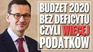 Sposób PiS na budżet bez deficytu – więcej podatków.