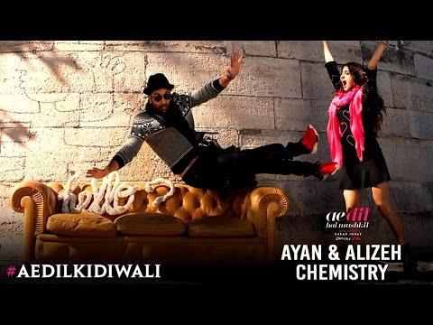 Ae Dil Hai Mushkil | The chemistry of Ayan & Alizeh | Karan Johar | Ranbir Kapoor | Anushka Sharma