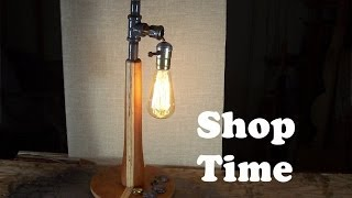 How To Make A Steampunk Desk Lamp