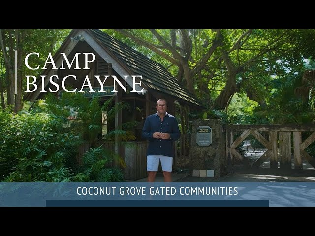 Camp Biscayne Gated Community In Coconut Grove