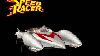 Speed Racer PS1 - CG Mach 5 Intro