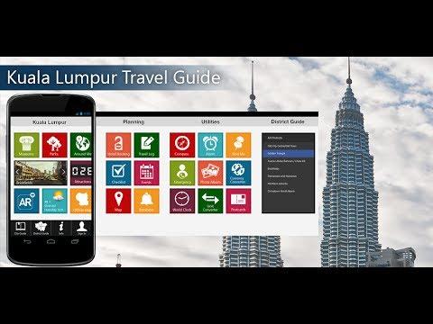 Kuala Lumpur Travel Android App Promo - Pangea Guides