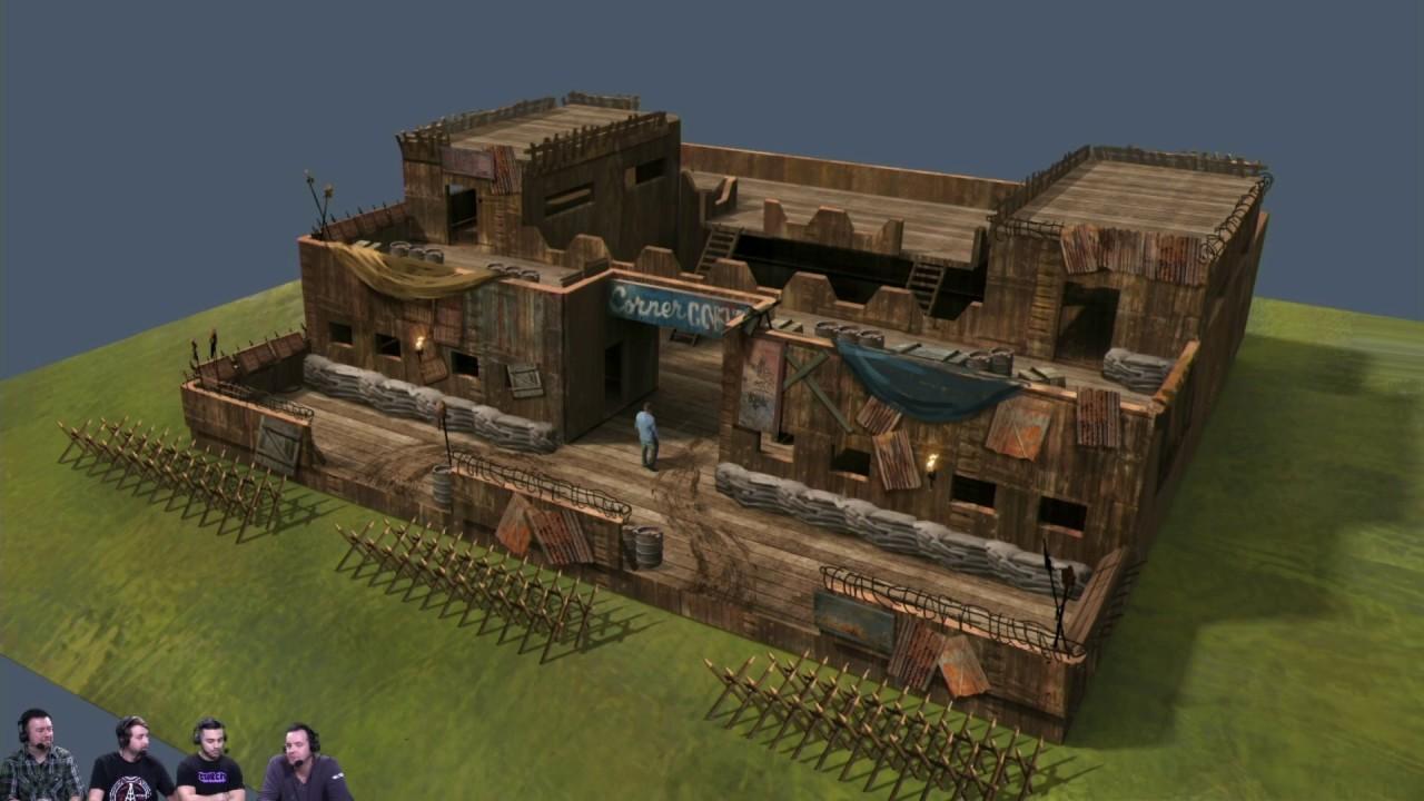 base design concepts vs strongholds : h1z1