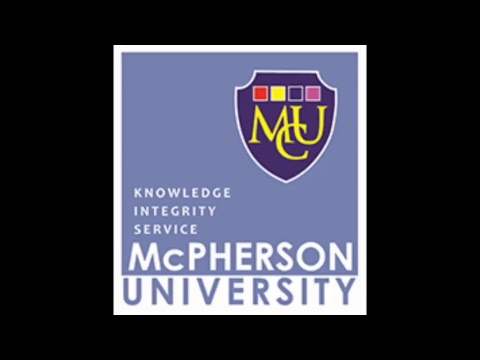 McPherson University 2018 Convocation Ceremony