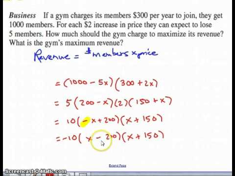 Worksheets Quadratic Equation Word Problems Worksheet how to solve word problems using quadratic equations youtube equations