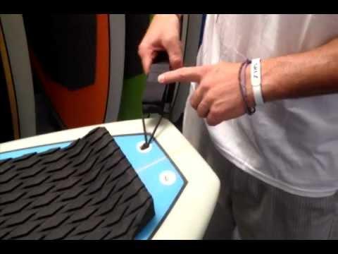 ISLE Surf & SUP Leash Installation Video