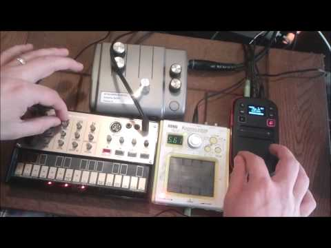 Volca Sweet pocket Dreams with friends