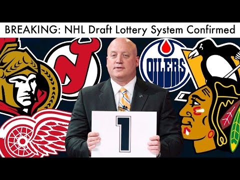 BREAKING: New NHL Draft Lottery System CONFIRMED! (Hockey Prospects & Playoff Format Talk 2020)