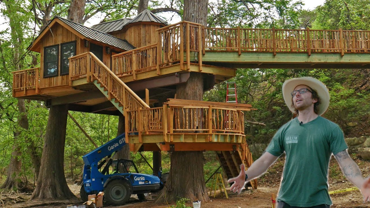 Treehouse Utopia Renew Refresh Relax