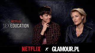 Sex Education: wywiad z Gillian Anderson, Asą Butterfieldem i resztą obsady nowego serialu Netflixa
