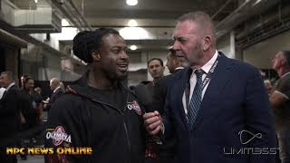 2019 Mr. Olympia 2nd Place Winner William Bonac After Show Interview