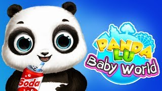 Fun Animal Care Games  - Panda Lu Baby Bear Feed, Play, Clean Theme Park Kids Mini Games