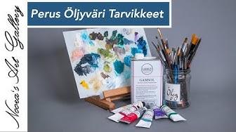 Nooran Taide Nurkka - Osa 6 - Öljyvärit