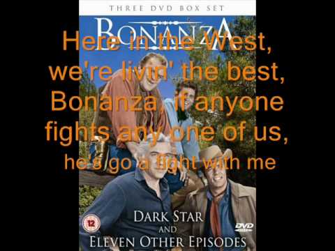 bonanza with lyrics.wmv