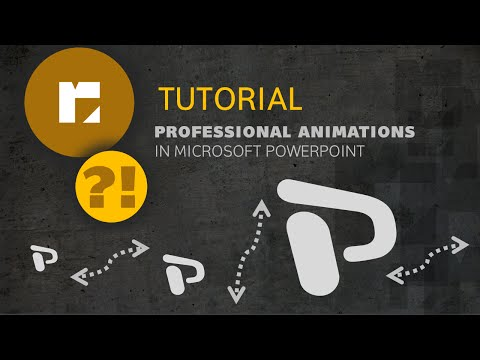 Tutorial | Professional Animations in PowerPoint | HD