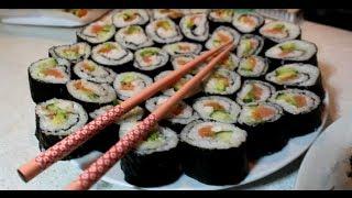 Как сделать роллы дома быстро и вкусно!(, 2013-12-28T15:01:01.000Z)