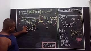 Professor André Martins - Desafio 1 de Matemática