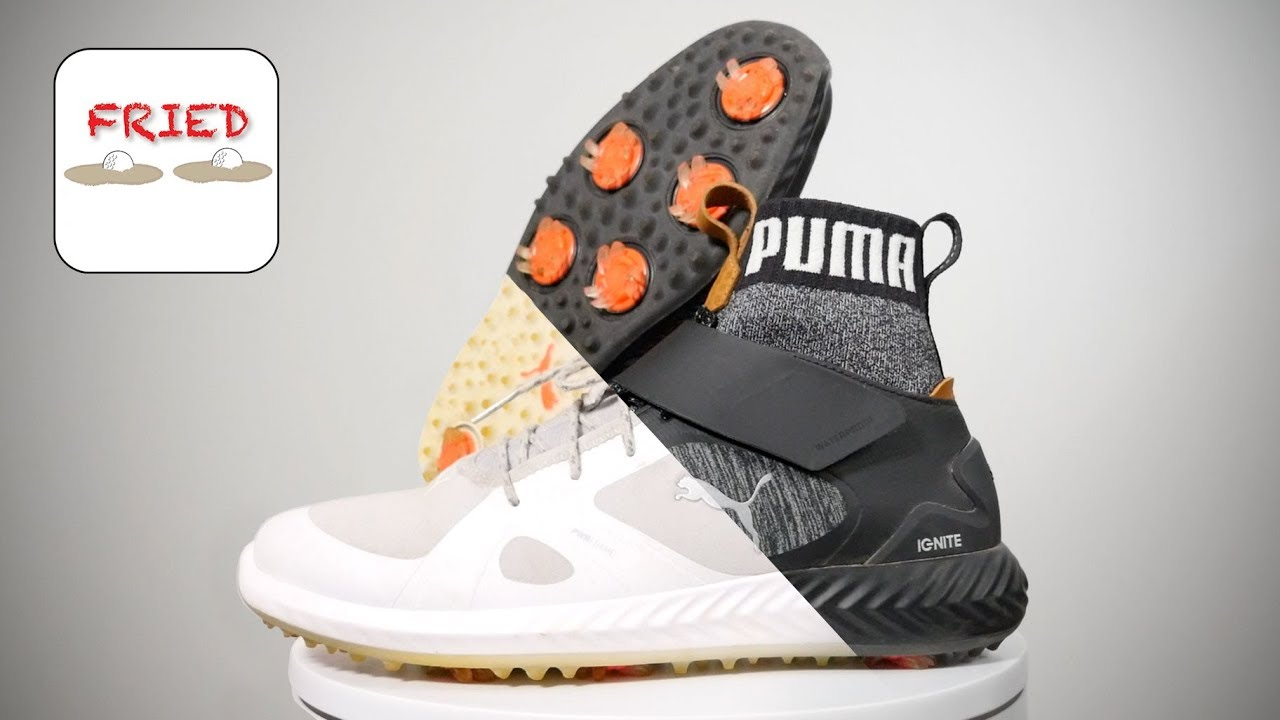 a5f6fe64470f0e Puma Ignite PWRADAPT   PWRADAPT Hi-Top Golf Shoes - YouTube