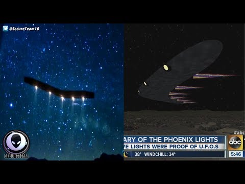MYSTERY Witness To Phoenix Lights UFO Revealed! 5/25/17