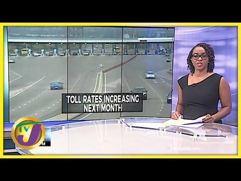 Toll Road Increasing | Jamaica Transport Authority on Uber | TVJ News - June 16 2021