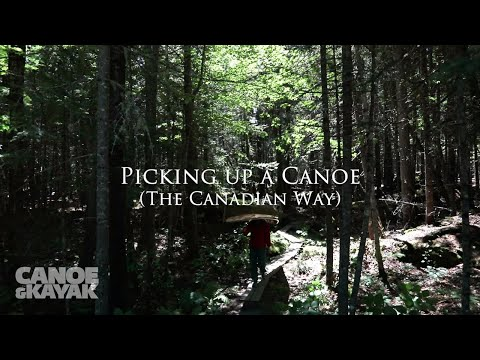 Picking up a Canoe (The Right Way)