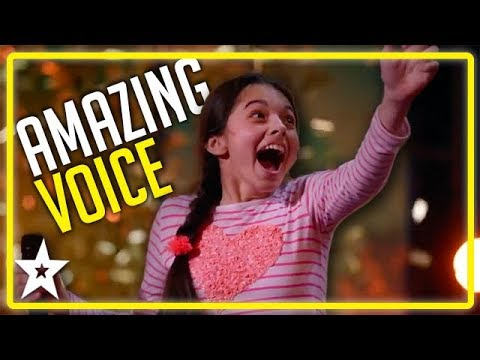 Opera Singer Gets Mel B's GOLDEN BUZZER on America's Got Tal