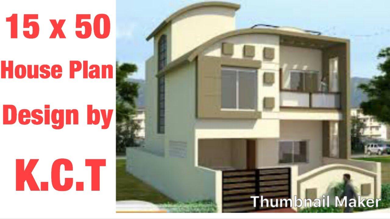 15 x 50 house design 1 bhk type 1